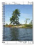 Lonesome Island Spiral Notebook