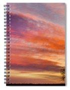 Lonesome Tree Sunrise Spiral Notebook