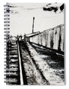 Lonesome Whistle Spiral Notebook