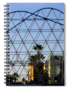 Long Beach Lines Spiral Notebook