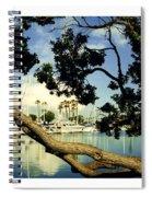 Long Beach Marina Spiral Notebook