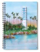 Long Beach Oil Island Spiral Notebook