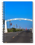 Long Beach Spiral Notebook