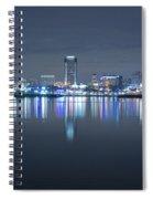 Long Beach Skyline Spiral Notebook