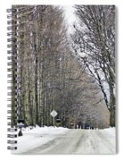 Long Country Road Spiral Notebook