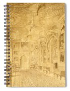 Long Gallery At Strawberry Hill Spiral Notebook