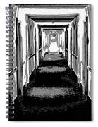 Long Hallway Spiral Notebook