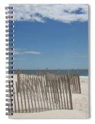 Long Island Beach Spiral Notebook