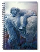 Silverback Gorilla - Long Journey Home Spiral Notebook