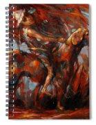 Long Journeys Dream Spiral Notebook