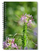 Long Lavender Fingers Spiral Notebook