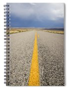 Long Lonely Road Spiral Notebook