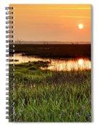 Long Marsh View Spiral Notebook