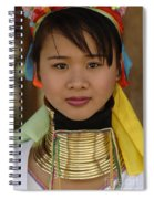 Long Necked Woman Of Thailand Spiral Notebook
