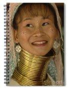Long Necked Woman Thailand 5 Spiral Notebook