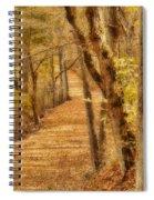 Long Road Spiral Notebook