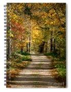 Long Shadows Spiral Notebook