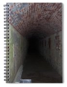long tunnel in Ft Adams Spiral Notebook
