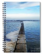 Long View To The Ocean Spiral Notebook