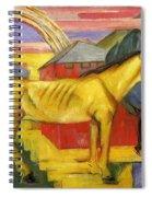 Long Yellow Horse 1913 Spiral Notebook