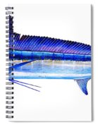 Longbill Spearfish Spiral Notebook