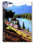 Longest Journey Spiral Notebook