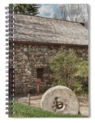 Longfellow's Wayside Inn Grist Mill Spiral Notebook