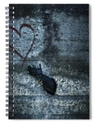 Longing For Love Spiral Notebook