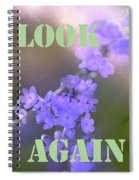 Look Again Spiral Notebook