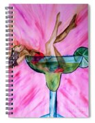 Look Better Naked Margarita Spiral Notebook