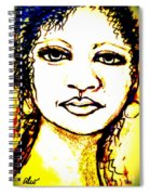Look In The Mirror - Make A Change Spiral Notebook