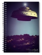 Look... It's A Flying Saucer Spiral Notebook