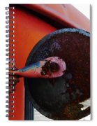 Look Round Spiral Notebook