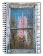 Look Through My Window II Spiral Notebook