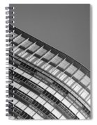Look To The Sky 18 Spiral Notebook