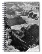 Looking Down On Grand Canyon Spiral Notebook