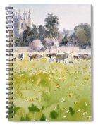 Looking Across Christ Church Meadows Spiral Notebook