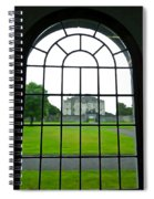 Looking At Portumna Castle Spiral Notebook