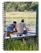 Looking At The Marsh Spiral Notebook