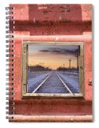 Looking Back Panorama Spiral Notebook