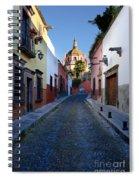 Looking Down Aldama Street, Mexico Spiral Notebook