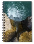 Looking Down Spiral Notebook