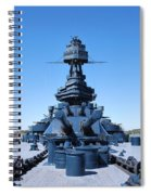 Looking Down The Barrel Spiral Notebook