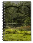Looking For Food Merged Image Spiral Notebook