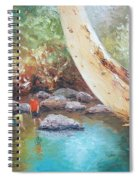Looking For Tad Poles Spiral Notebook