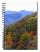 Looking Glass Rock And Fall Colors Spiral Notebook
