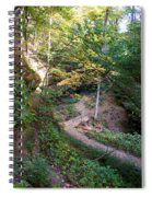 Looking Into Devil's Punch Bowl Wildcat Den Spiral Notebook