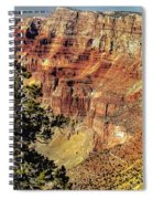 Looking Into The South Rim Spiral Notebook