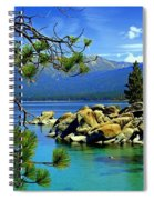 Looking North Spiral Notebook