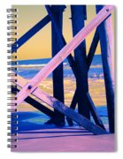 looking On - Neon Spiral Notebook